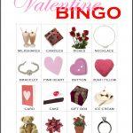 Valentine Bingo Card 12