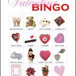 Valentine Bingo Card 3