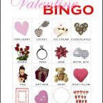 Valentine Bingo Card 6