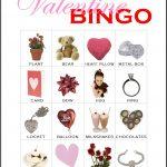 Valentine Bingo Card 8