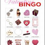 Valentine Bingo Card 9