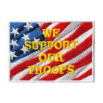 We Support our Troops Patch