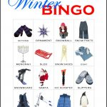 Winter Bingo card 1
