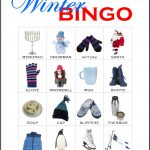 Winter Bingo Card 11