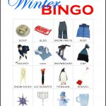 Winter Bingo Card 12