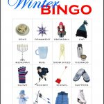 Winter Bingo Card 2