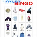 Winter Bingo Card 3