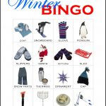 Winter Bingo Card 5