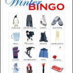 Winter Bingo Card 6