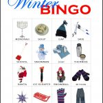 Winter Bingo Card 7