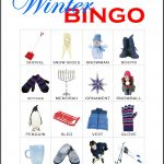 Winter Bingo Card 8