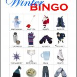 Winter Bingo Card 9