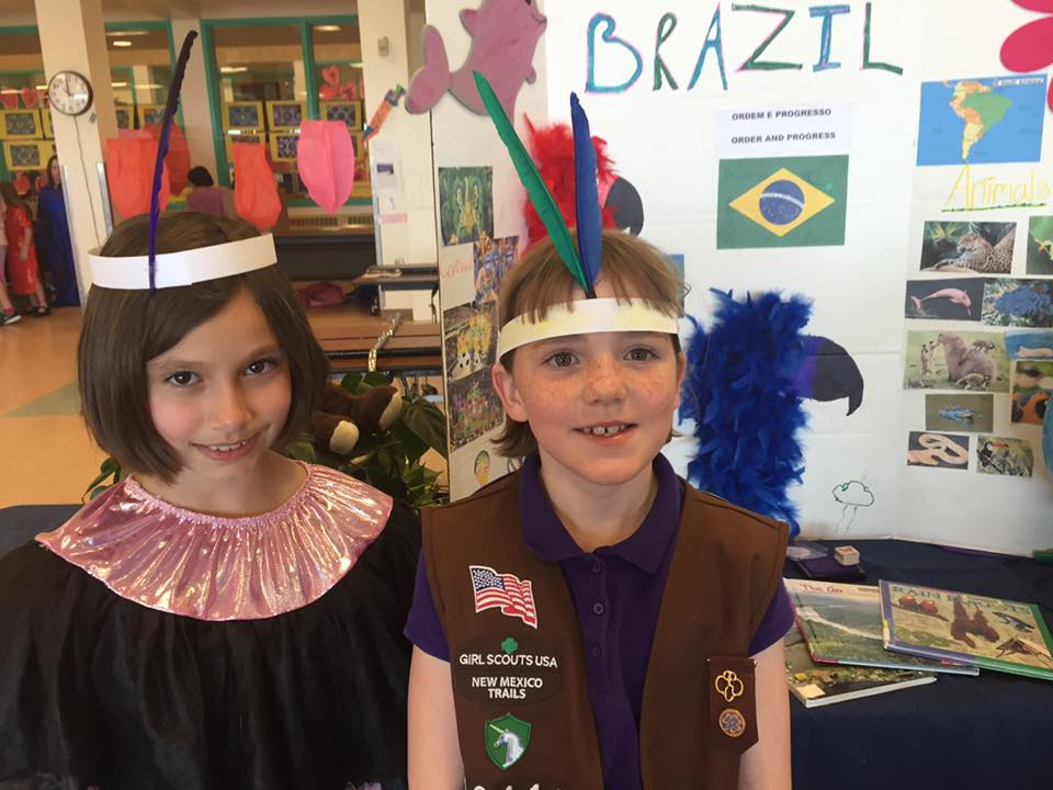 Brazil for World Thinking Day