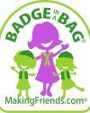makingfriends.com badge in a bag girl scout kits