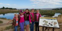 Troop 338 took a trip to the wetlands while working on the WOW journey.