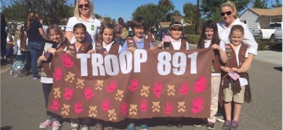 Girl Scout Brownie Banner