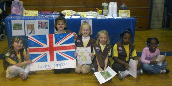 Brownie Girl Scout Thinking Day