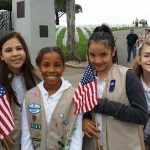 Cadette Girl Scouts