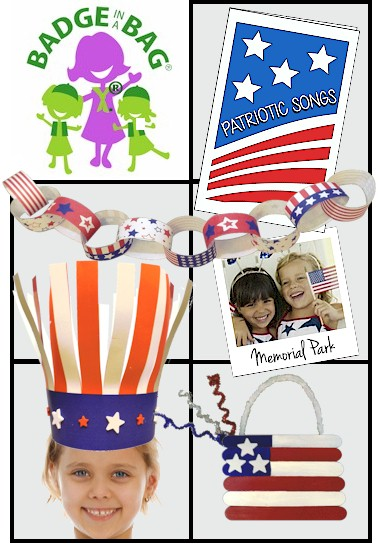 The Celebrating Community Badge in a Bag® from MakingFriends®.com is a great bag for preparing your girls for any of our patriotic holidays and earning the Brownie* Celebrating Community badge! *MakingFriends®.com is not affiliated with, endorsed by or a licensee of Girl Scouts of the USA. via @gsleader411