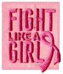 Fight Like A Girl Breast Cancer Awareness