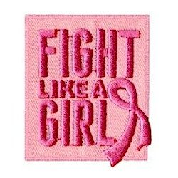 Girl Scout Fight Like A Girl Fun Patch