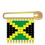 Jamaica Flag Pin SWAPs