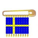 Sweden Flag Pin SWAPs
