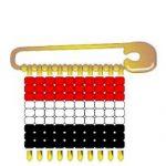 Yemen Flag Pin SWAPs
