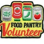 Food Pantry Volunteer Patch