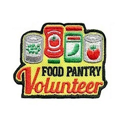 Girl Scout Fun Patch Food Drive