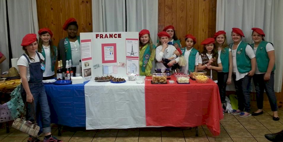 Girl Scout Thinking Day France