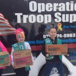Troop 65026 cookie collection for the military.