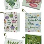 Girl Scout Mini Birthday Card SWAPs