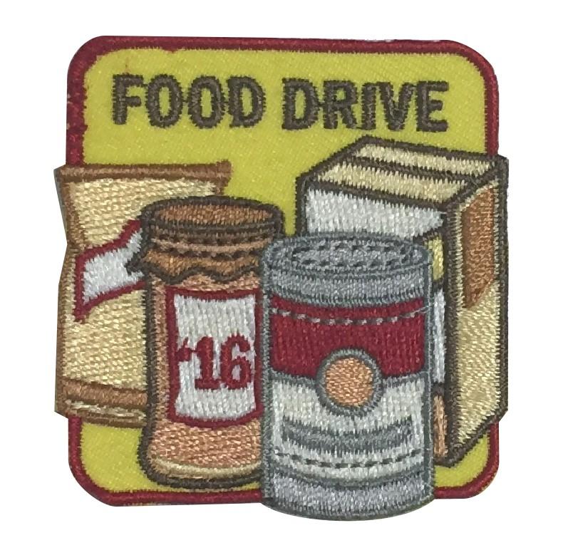 Food Drive Girl Scout Fun Pathc