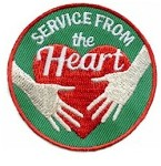 Service from the Heart Fun Patch