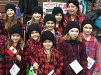 Cute! Easy lumberjack costumes for Thinking Day*. These girls earned earned a Canada patch.