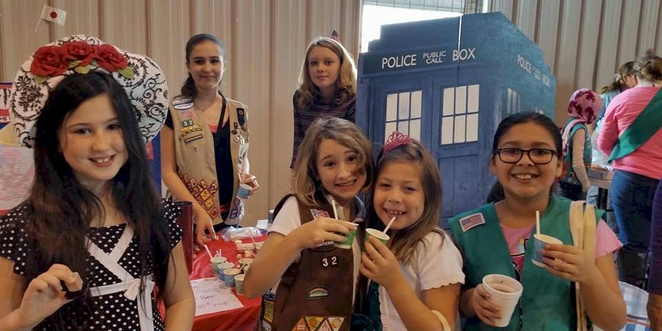 Girl Scout World Thinking Day Food