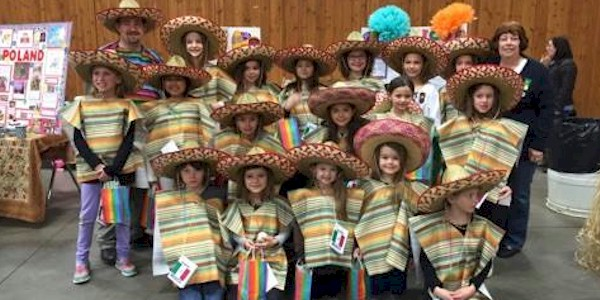 Mexico Girl Scout Thinking Day