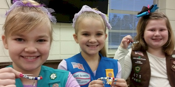 Girl Scout Thinking Day SWAPs