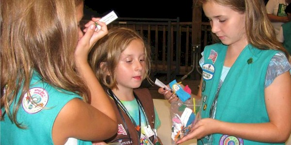 Brownie Girl Scout SWAPs