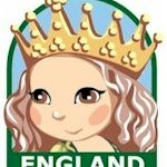 England Girl Scout Thinking Day Fun Patch