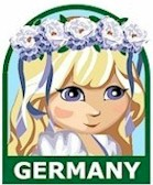 Germany Girl Scout Thinking Day Fun Patch