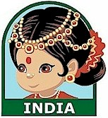 India Patch. Make the India Patch part of your exploration of Gandhi, Bollywood, the Taj Mahal, saris, Mendi, curry or any of the other wonderful cultural aspects of India. Our page India | Ideas for Thinking Day* has more ideas for costumes, free printables, crafts, friendship swaps and more. via @gsleader411