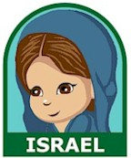 Israel Girl Scout Thinking Day Fun Patch