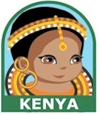 Kenya Girl Scout Thinking Day Fun Patch