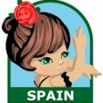 Spain Girl Scout Thinking Day Fun Patch