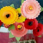 Scalloped Edge Flowers