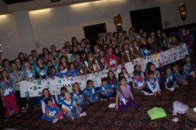 Girl Scout Thinking Day Event