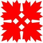 Canadian Maple Leaf Kerigami