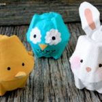 Recycled Egg Carton Animals